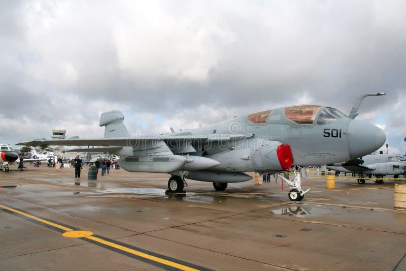 Merodeador de la marina EA-6B de los E.E.U.U. fotografía de archivo libre de regalías