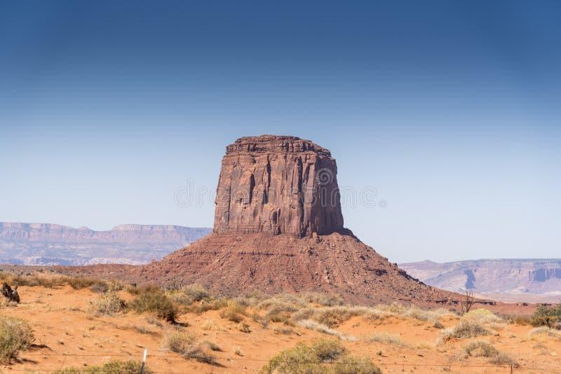 Merrick Butte Monument Valley Αριζόνα στοκ φωτογραφίες