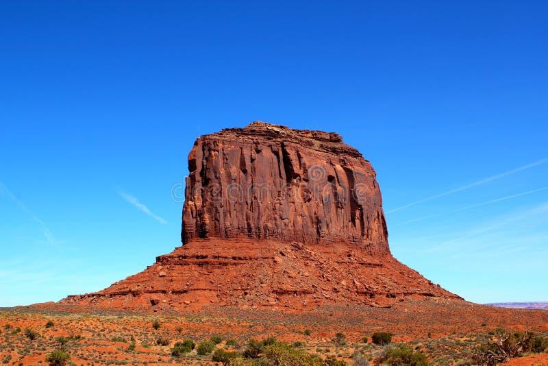 Merrick Butte w Pomnikowej dolinie, Utah Arizona, usa/ zdjęcia stock