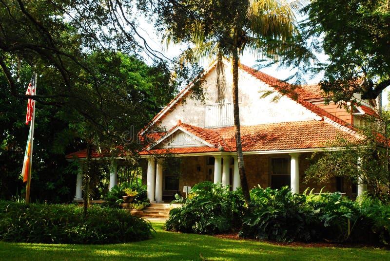 Merrick House, Coral Gables royalty-vrije stock afbeelding