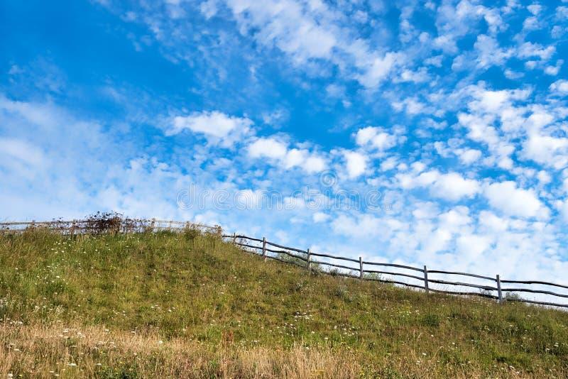 Merriesstaarten - Cirrus Uncinus Wolken royalty-vrije stock afbeeldingen