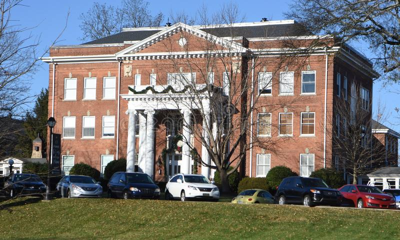 Merritt Administration Building, Anderson University images stock