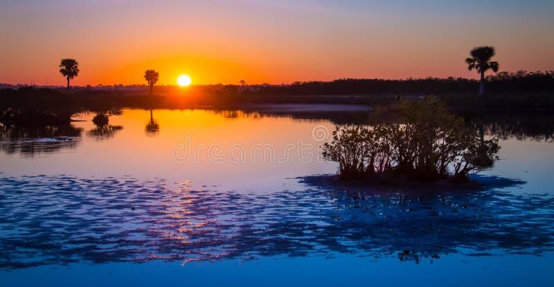 Merritt Island Sunrise imágenes de archivo libres de regalías