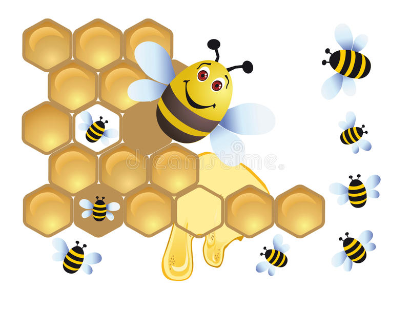 Download Merry bee stock illustration. Image of fauna, health - 14533733