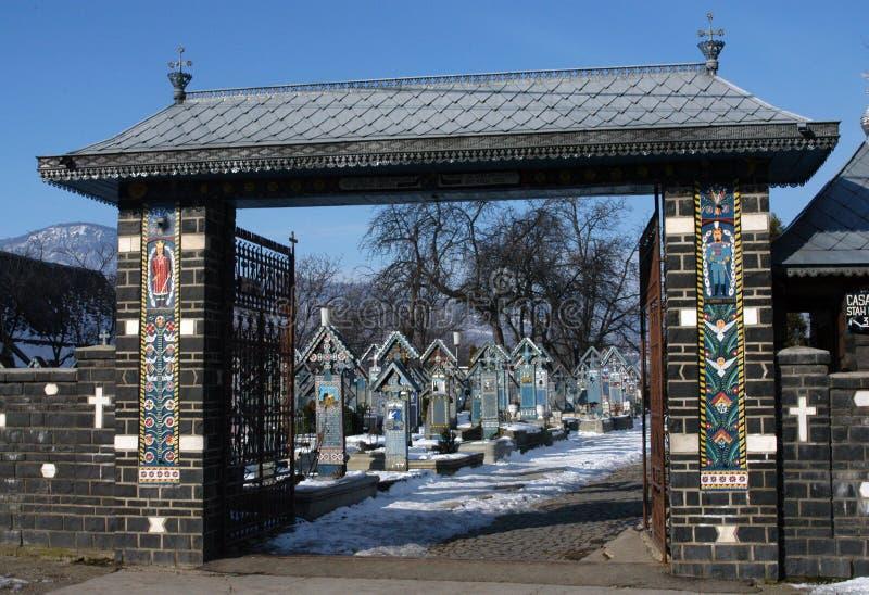 The Merry Cemetery Stock Image