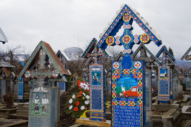 Download Merry cemetery stock image. Image of orthodox, tourism - 4268253