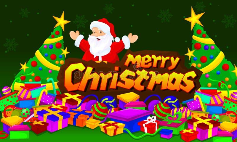 Merry chirstmas stock image