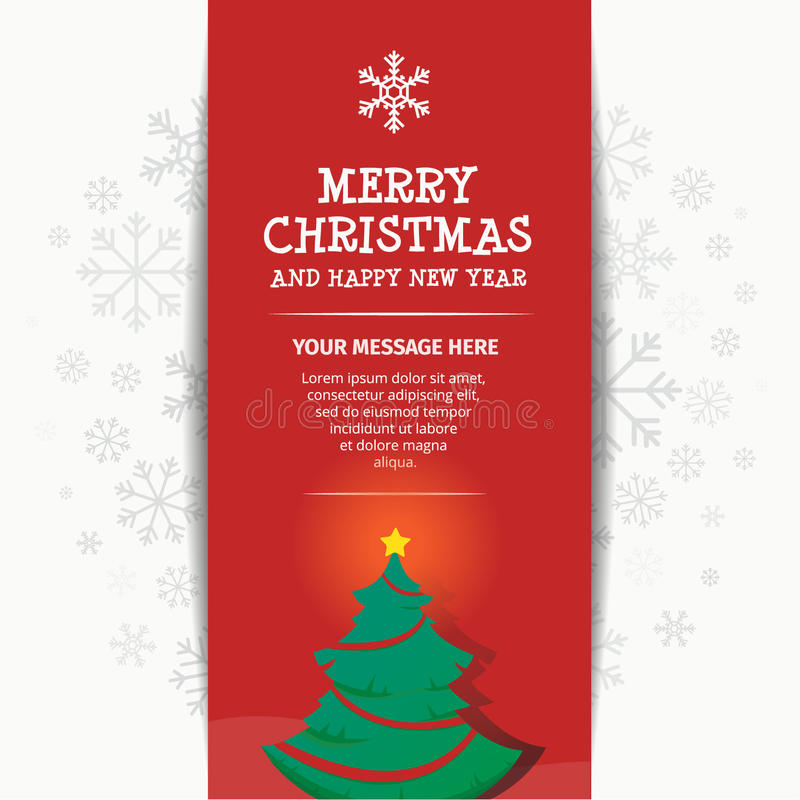 Merry Chistmas and Happy New Year royalty free stock photos