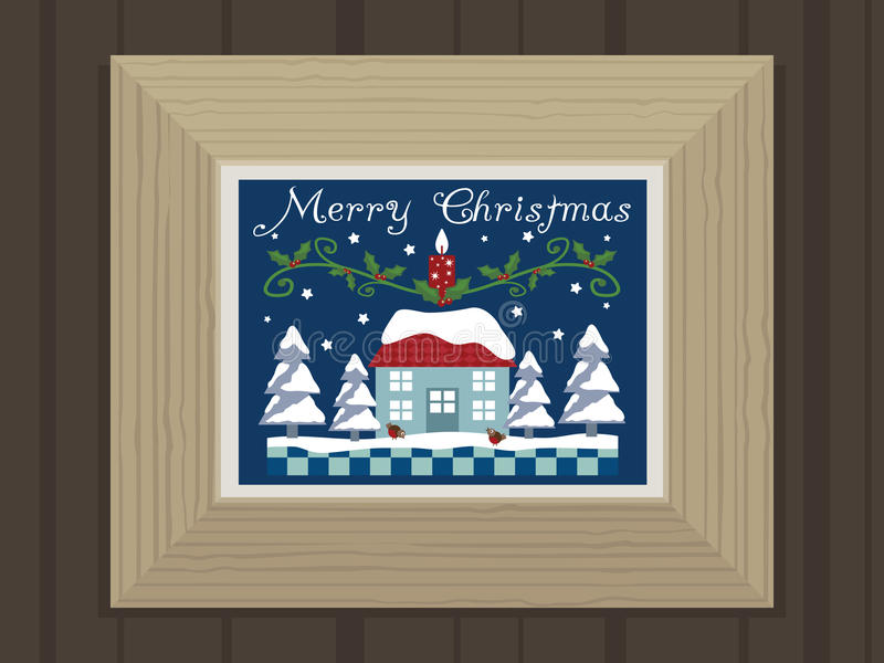 Download Merry christmas stock vector. Illustration of decoration - 11943094
