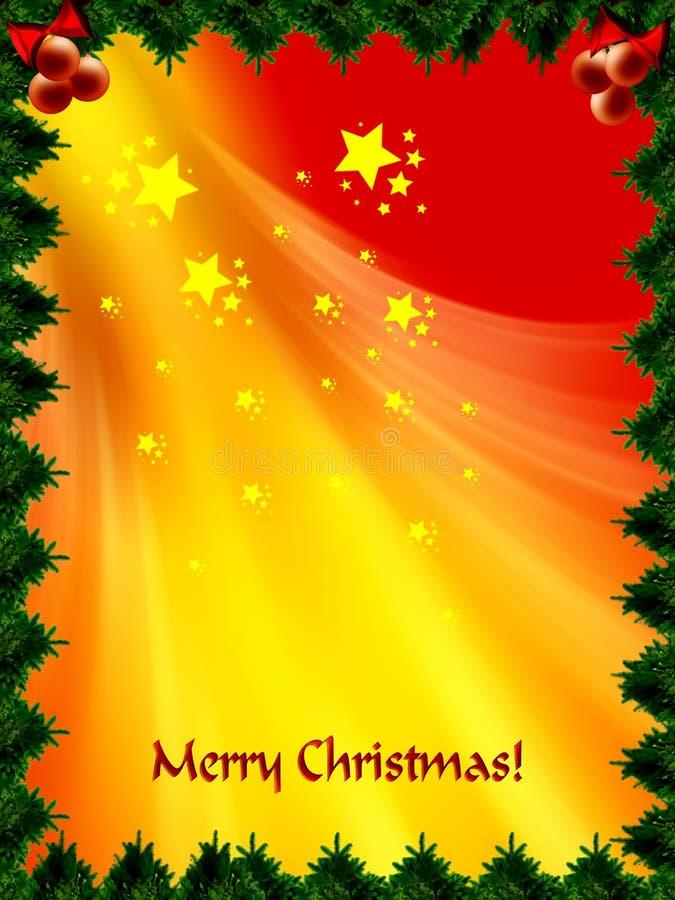 Merry Christmas! royalty free illustration