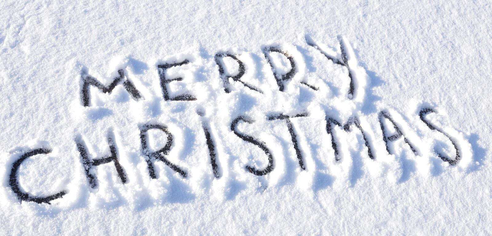 Download Merry Christmas stock image. Image of winter, writing - 17193379