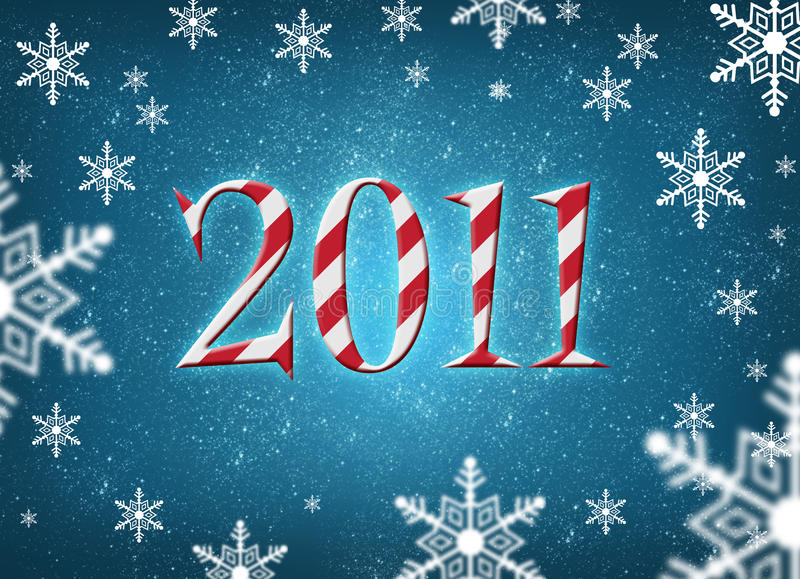 Download Merry christmas 2011 stock illustration. Illustration of font - 17272580