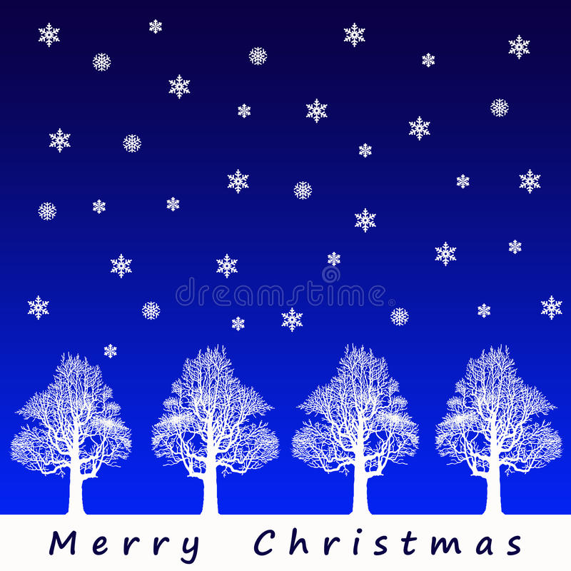 Download Merry christmas stock illustration. Image of card, wintertime - 20337972