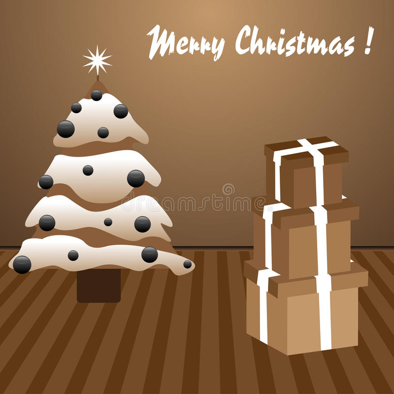 Download Merry Christmas stock vector. Image of design, background - 21827190