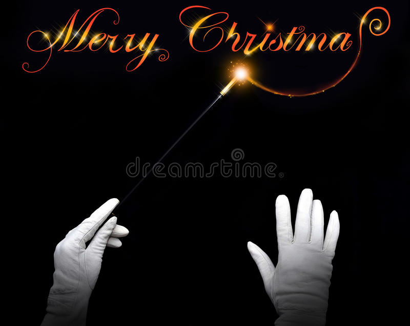 Download Merry Christmas stock photo. Image of fascinator, holidays - 21962946