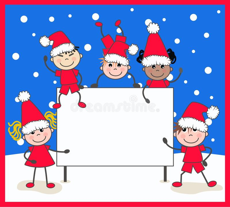 Download Merry christmas stock illustration. Illustration of cold - 22133068