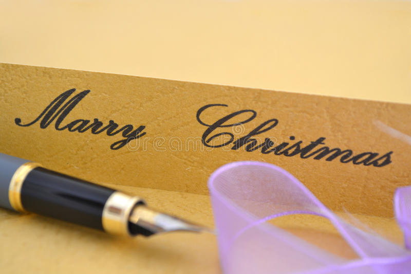 Download Merry christmas stock image. Image of signage, sign, banner - 22179683