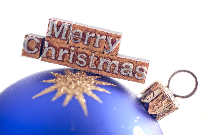 Download Merry Christmas stock photo. Image of letterpress, merry - 22459666