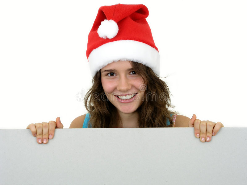 Download Merry Christmas stock image. Image of greetings, girl, paper - 292239