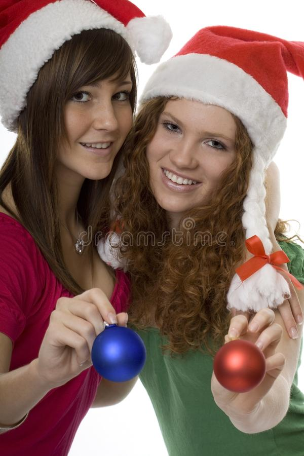 Download Merry Christmas stock photo. Image of woman, attractive - 8579068