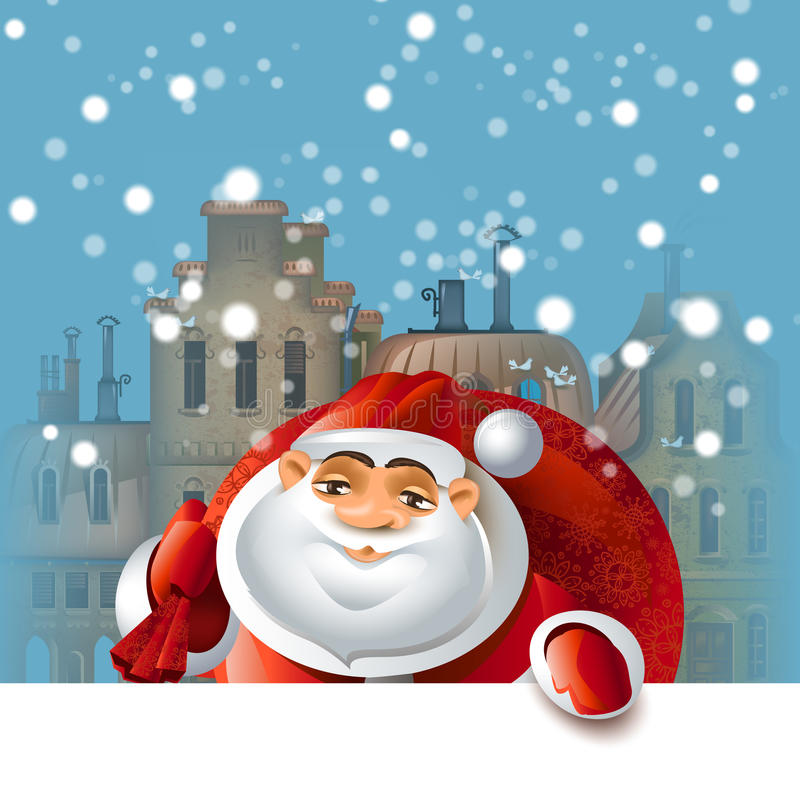 Download Merry Christmas stock vector. Image of funny, background - 34979695