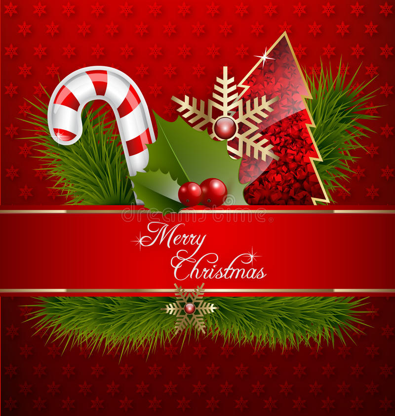 Download Merry Christmas Background stock illustration. Illustration of gold - 28024550