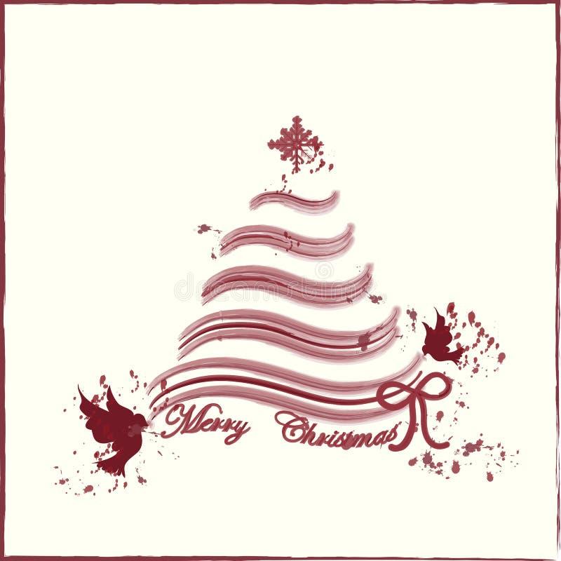 Merry christmas background card. Merry christmas card , design vector illustration
