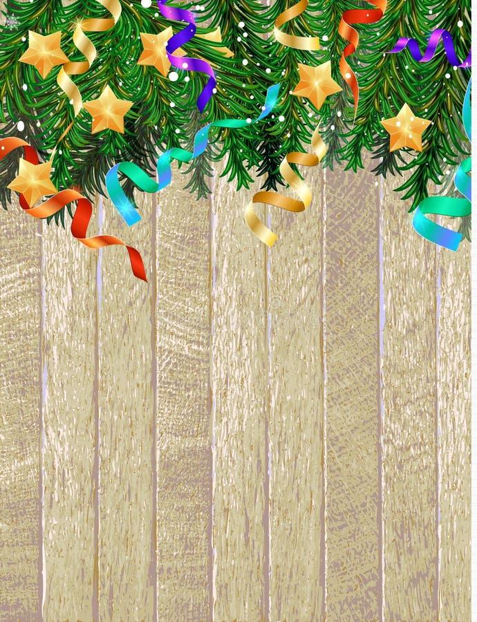 Merry Christmas 2019 background stock illustration