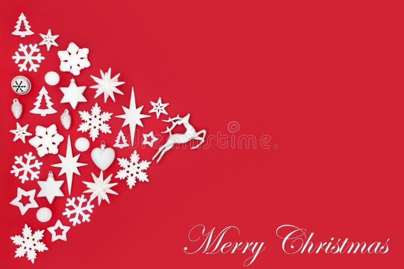 Merry Christmas Background stock photo