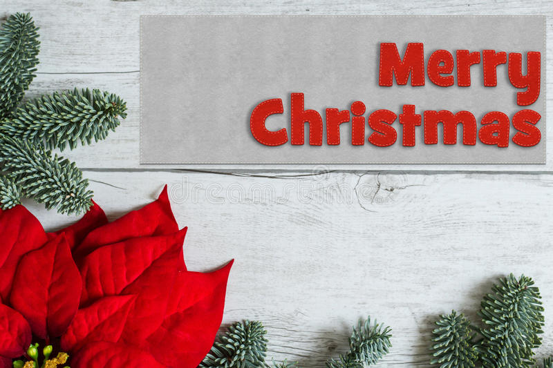 Merry Christmas background stock photo