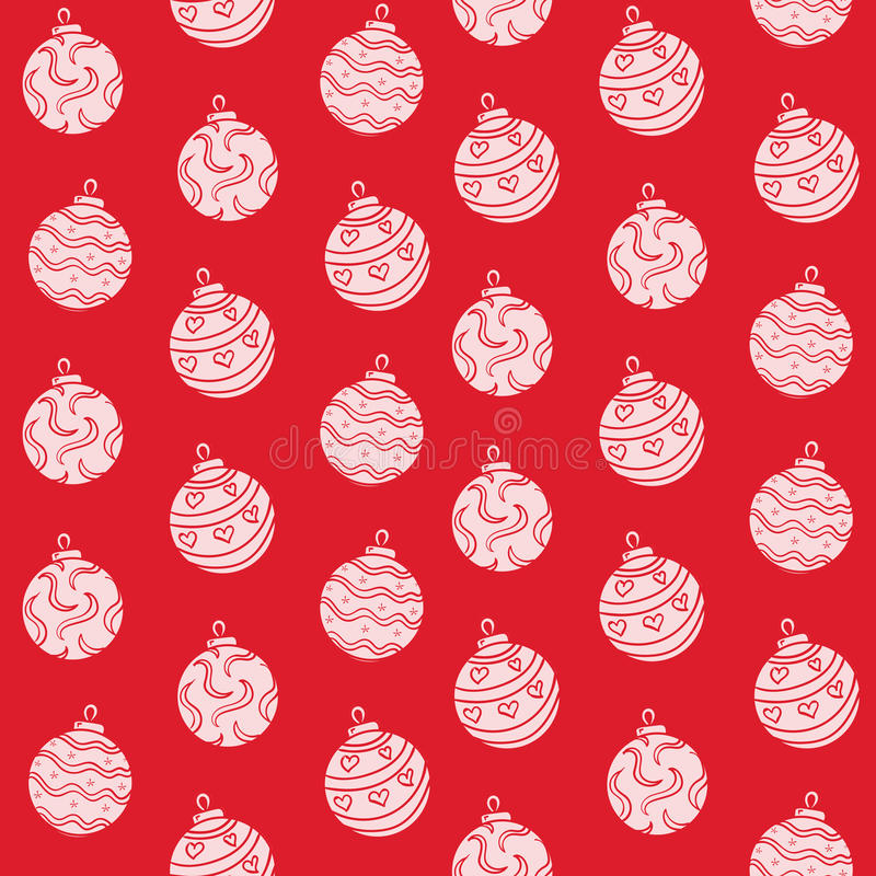 Merry Christmas background. Simple illustration stock images