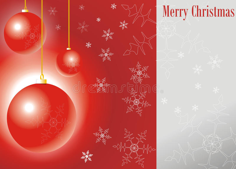 Download Merry christmas balls stock illustration. Image of holiday - 22103580