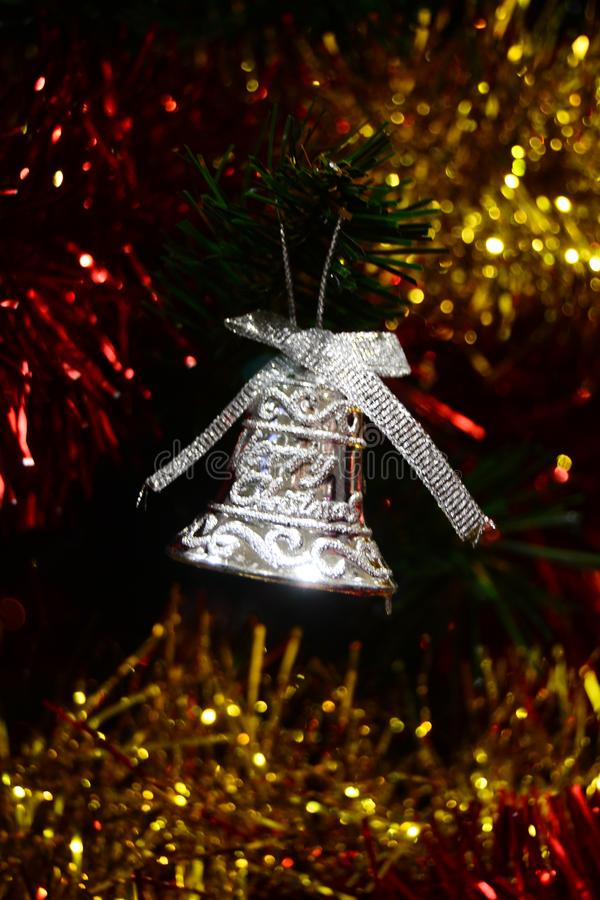 Merry Christmas Bell for brosur and banner. This Image for your christmas ceremony and your business royalty free stock image