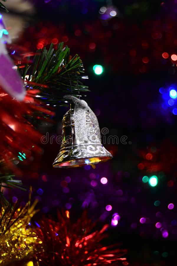 Merry Christmas Bell for brosur and banner. This Image for your christmas ceremony and your business stock images