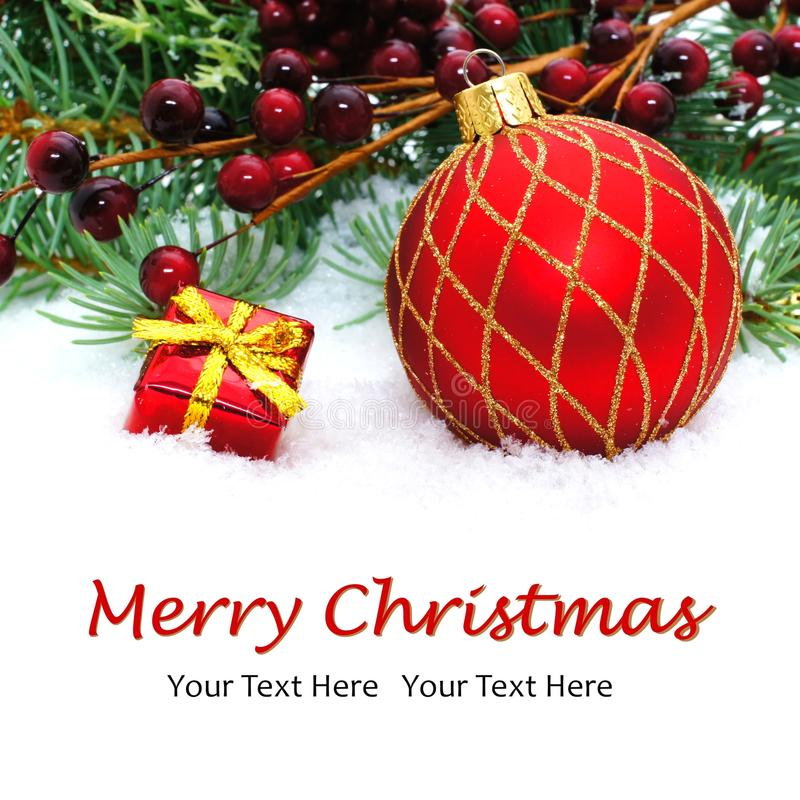 Download Merry Christmas stock photo. Image of celebrate, ball - 35192722