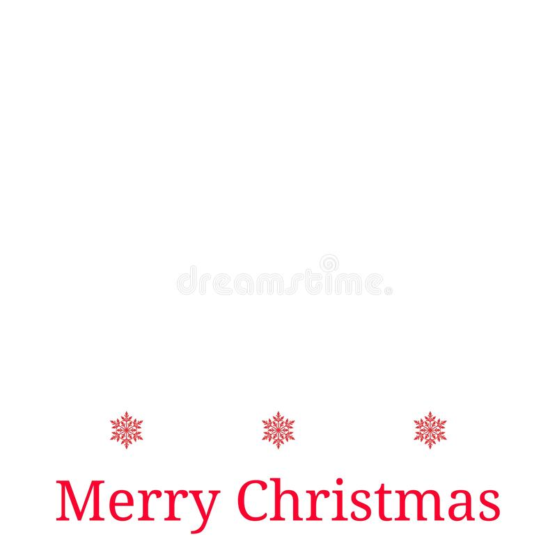 Merry Christmas card background snowflakes pattern repetition New year stock photography