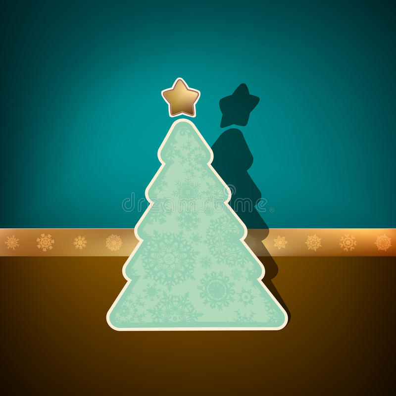 Download Merry Christmas Card. EPS 8 Stock Vector - Image: 17643783