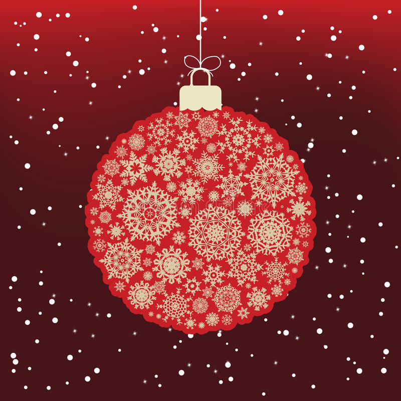 Download Merry Christmas Card. EPS 8 Stock Vector - Image: 18447046
