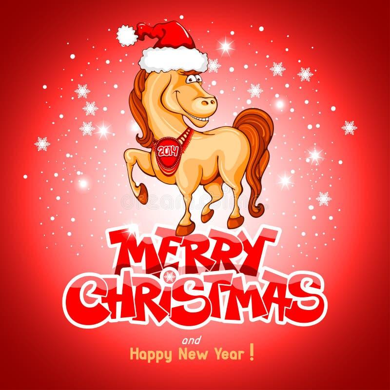 Merry Christmas Card Stock Photos