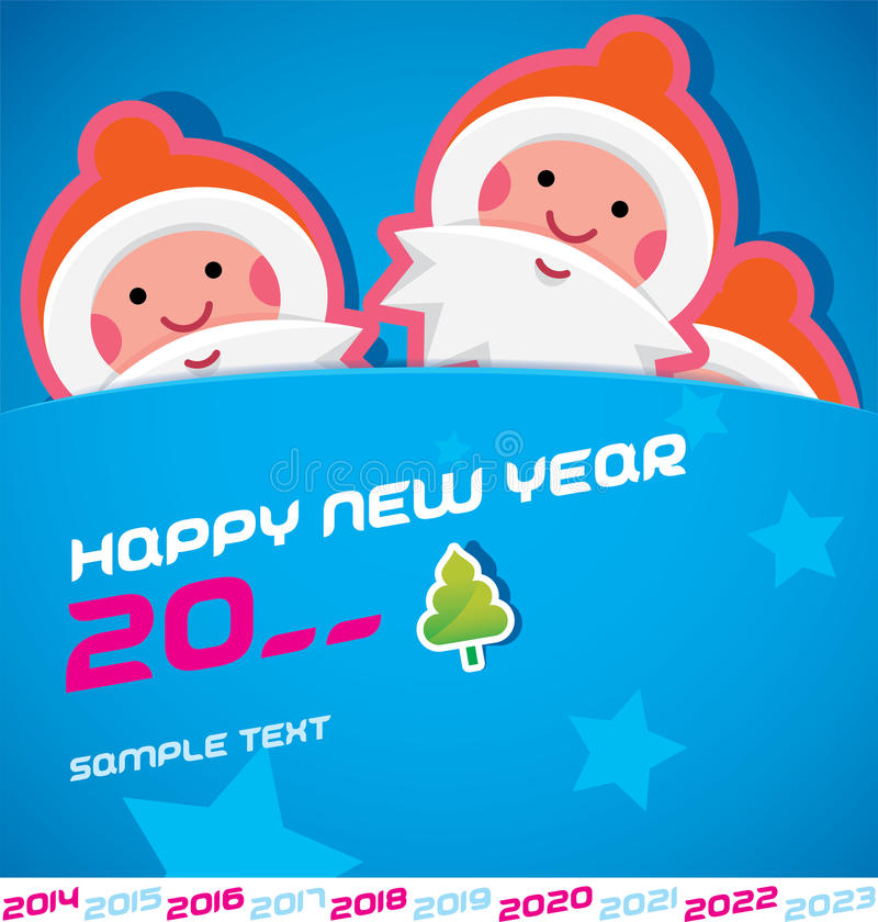 Download Merry Christmas Card stock vector. Image of 2016, graphic - 31273683