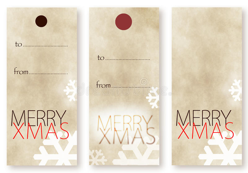 Merry Christmas card templates royalty free illustration
