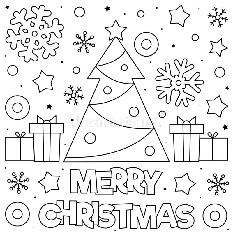 - Merry Christmas Coloring Stock Illustrations – 4,953 Merry Christmas  Coloring Stock Illustrations, Vectors & Clipart - Dreamstime