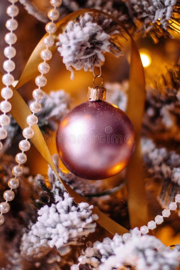 Merry Christmas Darling stock photography