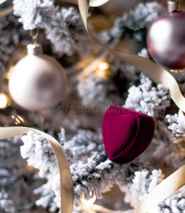 Merry Christmas Darling - Holiday Gift For Her royalty free stock images