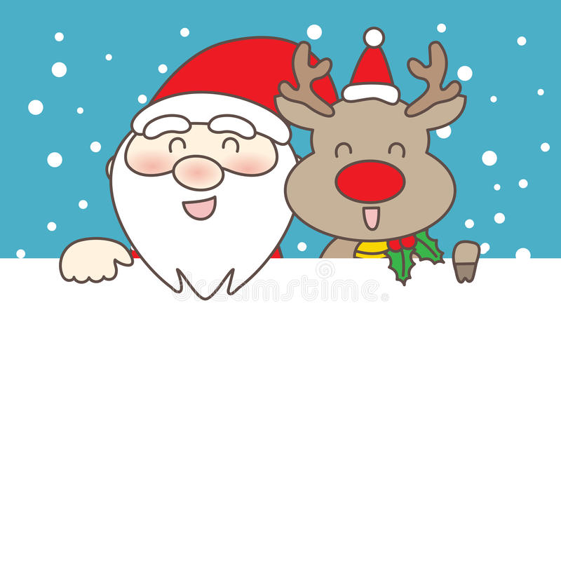 Merry christmas day royalty free illustration