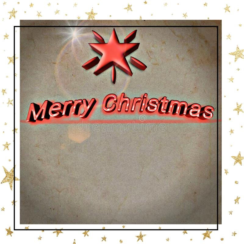 Merry Christmas for everyone vector illustration