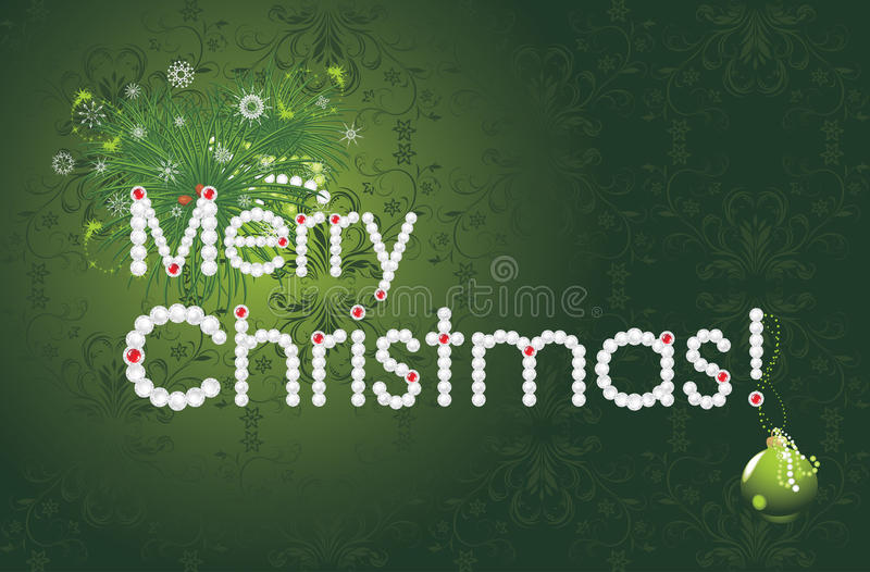 Download Merry Christmas. Festive Card Stock Vector - Image: 22344408