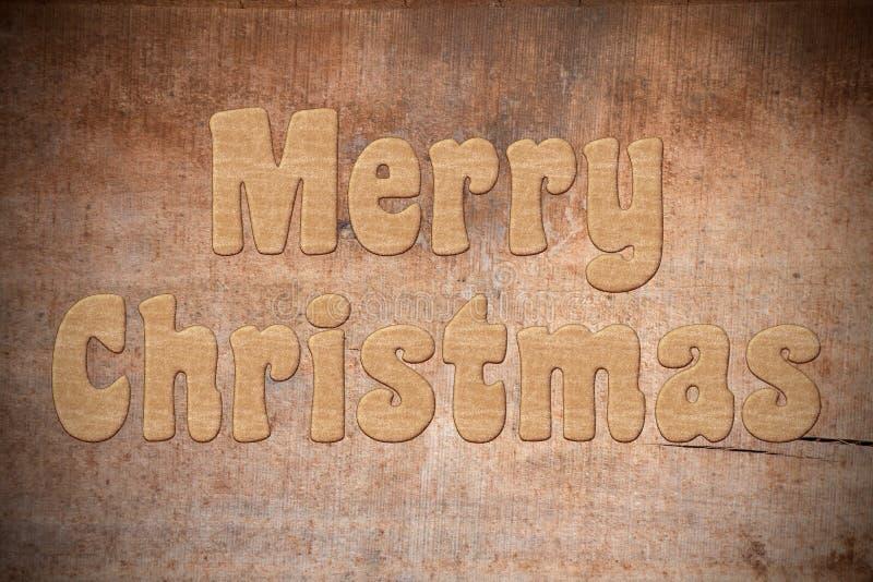 Merry Christmas gingerbread stock photos