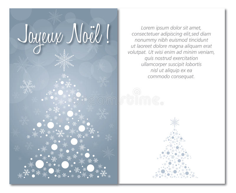 Merry christmas greeting card front and interior or back download merry christmas greeting card front and interior or back illustration french stock illustration illustration m4hsunfo