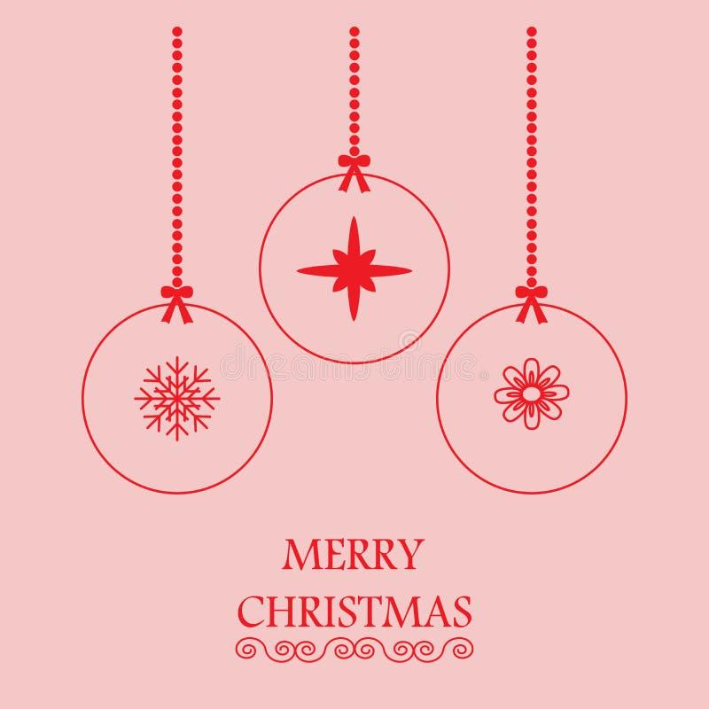 Merry Christmas greeting stock photography